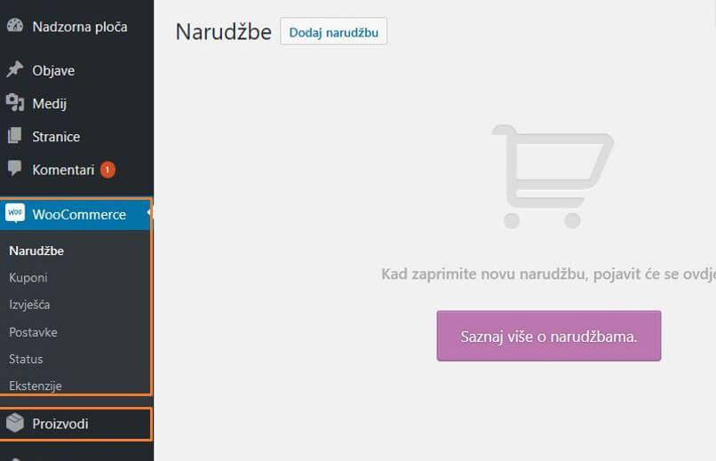 Opće postavke web shopa WooCommerce 3.1