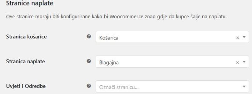 Stranice naplate WooCommerce 3.1